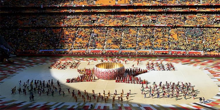 South Africa 2010 opening ceremony